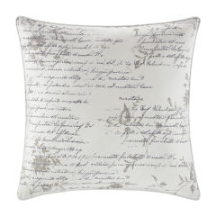 Script Canvas Decorative Pillow