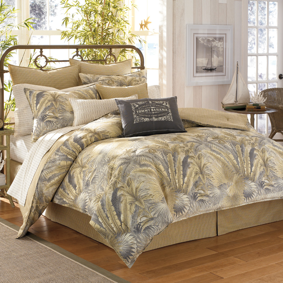 Queen Comforter Set Tommy Bahama Bahamian Breeze
