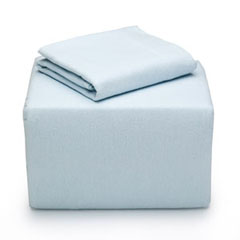 Cottage Blue Flannel Sheet Set