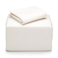 Cream Flannel Sheet Set