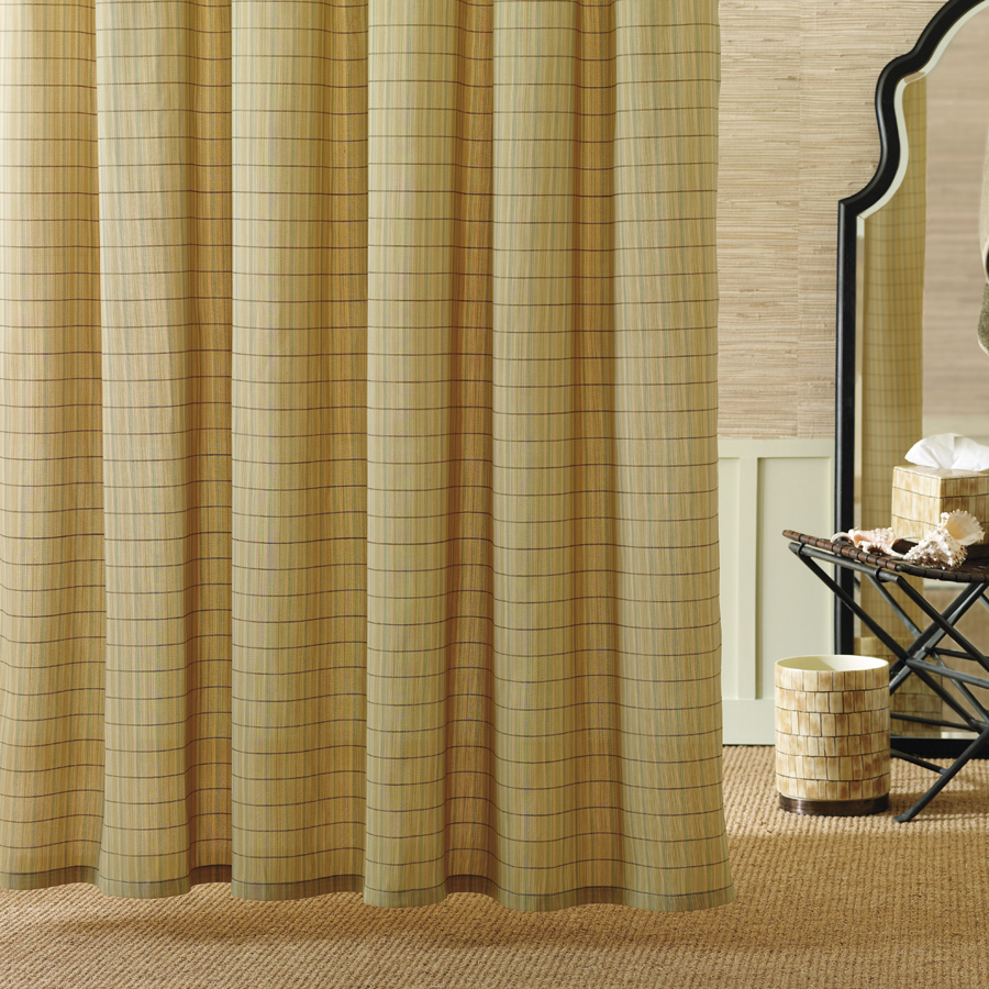 Palm shower curtain - Shower Curtain Tommy Bahama Palm Desert Image