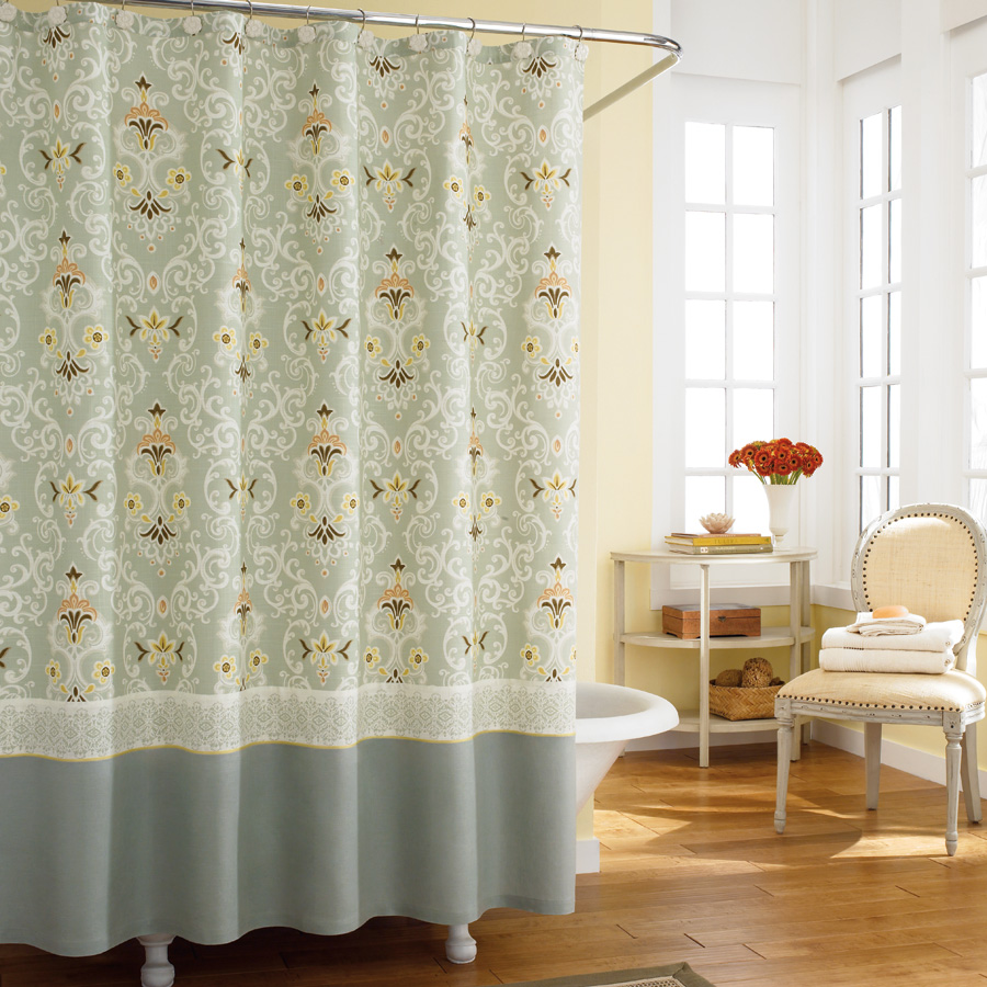 Hookless Extra Wide Shower Curtain IKEA Shower Curtains