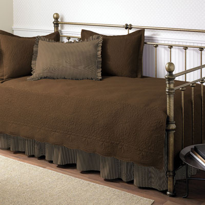 Stone Cottage Trellis Daybed Chocolate