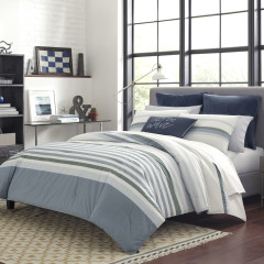 Lansier Cotton Comforter-Sham Set