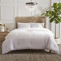 Seaford Knit Comforter-Sham Set