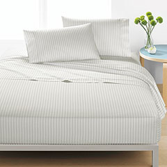 Marimekko Ajo Light Grey Sheet Set