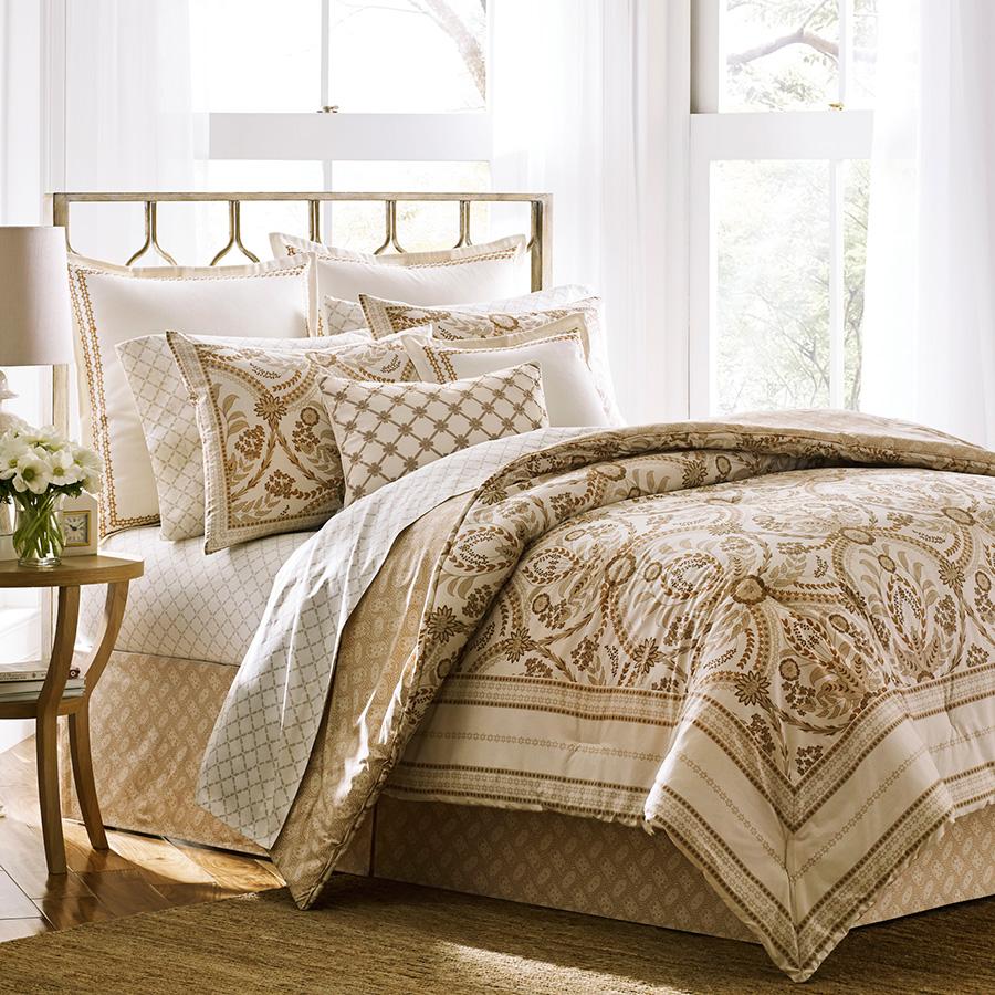 Queen Comforter Set Laura Ashley Sophia