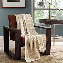 Eddie Bauer Alpine Oyster Throw Blanket