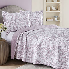 Amberly Heather Gray Quilt Set