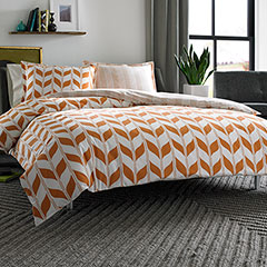 City Scene Amelia Reversible Comforter & Duvet Set