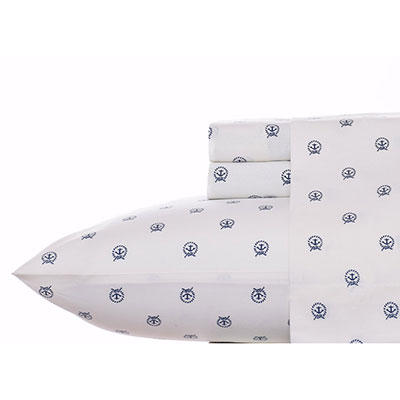 Nautica Anchor Circle Sheet Set