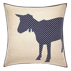 ED Ellen DeGeneres Square Pillow Applique Goat