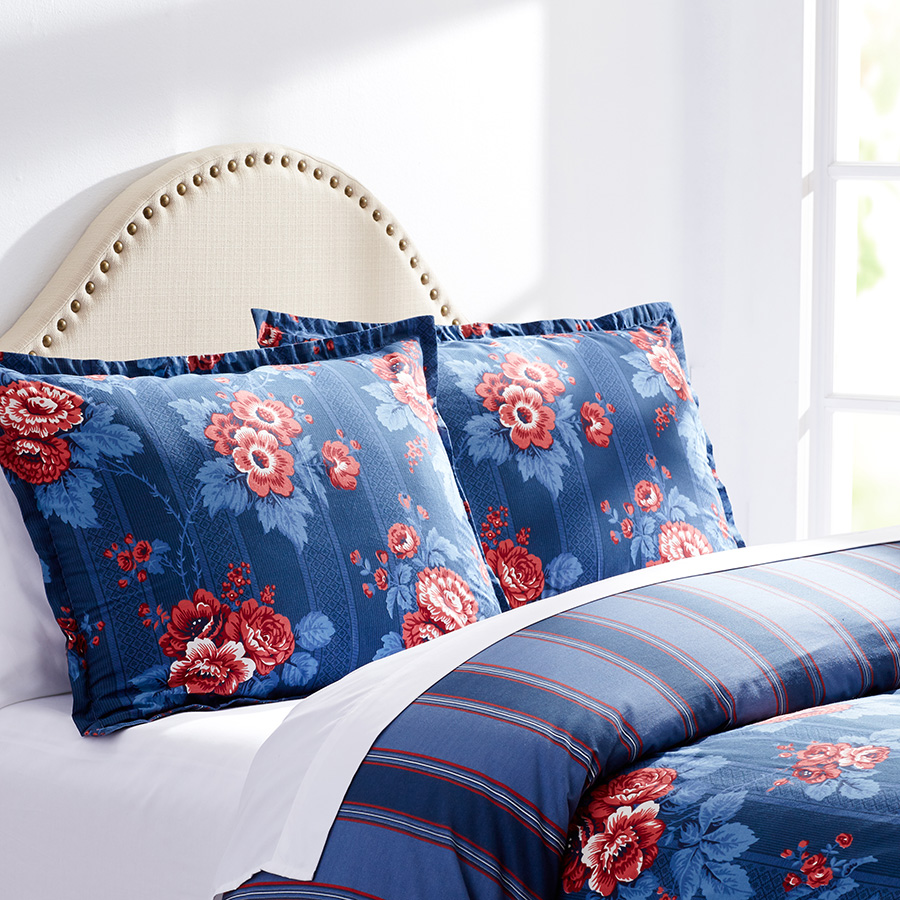 Full Queen Duvet Set Stone Cottage Ariadne Floral