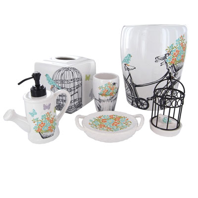 Laura Ashley Birds and Branches Bath Accessories