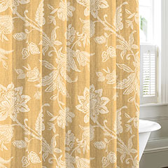 Bali Gold Shower Curtain