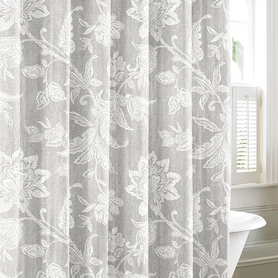 tommy bahama bali gray shower curtain from