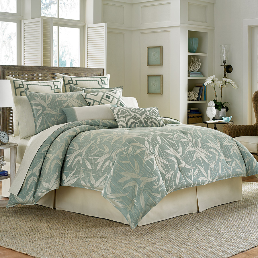Tommy bahama bamboo breeze comforter set from - Bedroom sheets and comforter sets ...