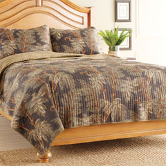Bamboo Leaf Quilt Set