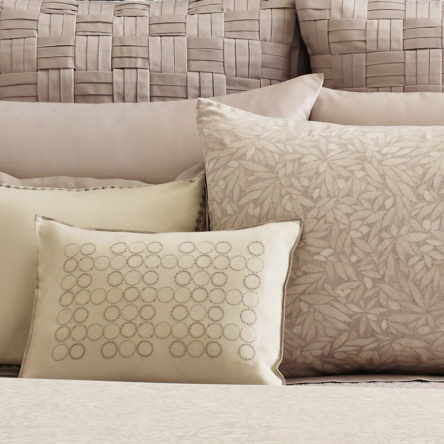 Vera Wang Bamboo Leaves Duvet Cover From Beddingstyle Com