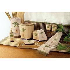 Tissue Cover Avanti Banana Palm Bath Collection