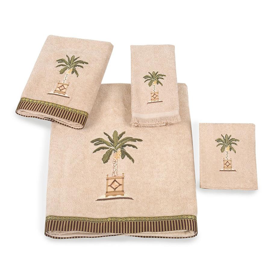 Avanti Banana Palm Bath Collection from Beddingstyle.com