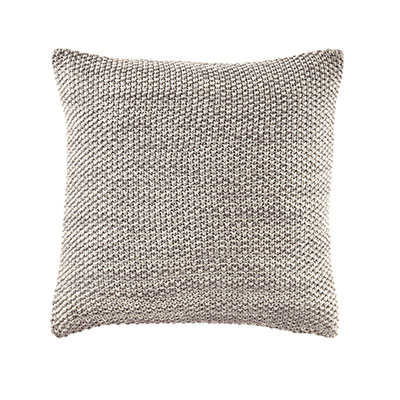 Nautica  Bartlett Melange Knit Square Pillow