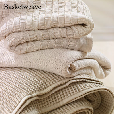 Under The Canopy Basketweave Blanket