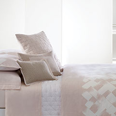 Vera Wang Basketweave Texture Duvet Cover