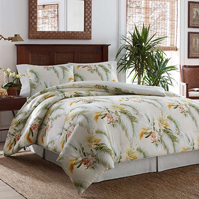 Tommy Bahama Beachcomber Gold Comforter Set From