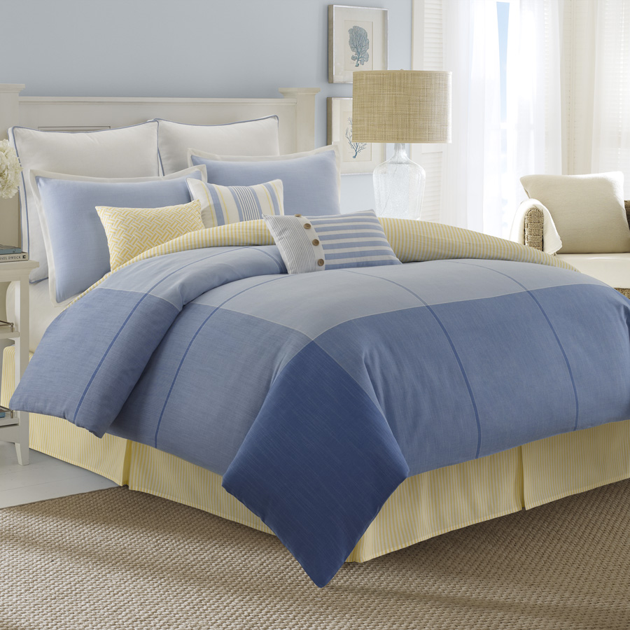 Nautica Sets Sail Blog Post Review Of The Latest Bedding Patterns