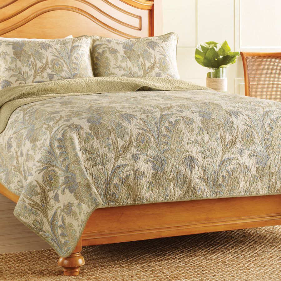 Tommy Bahama Quilted Paradise Blog Post From Beddingstyle Com