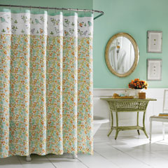 Birds and Branches Shower Curtain