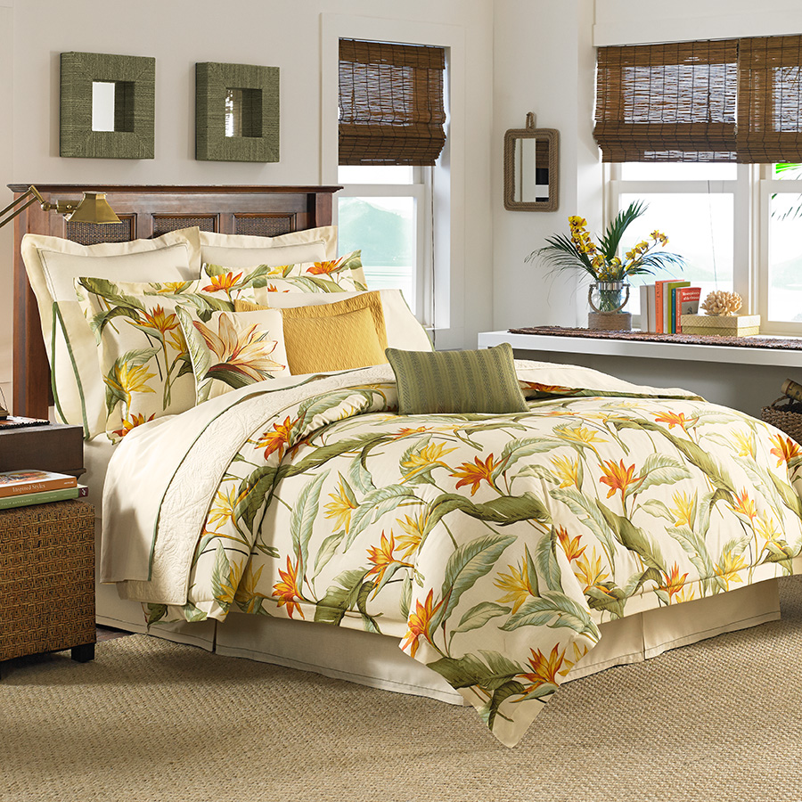 Pair of Drapes Tommy Bahama Birds of Paradise