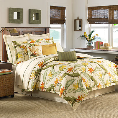 Tommy Bahama Birds Of Paradise Comforter Amp Duvet Set From