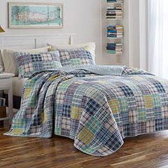 Poppy & Fritz Blair Plaid Quilt Set