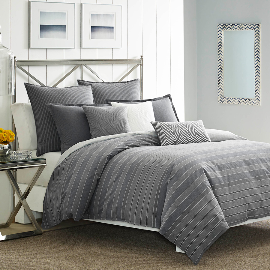 Click here for King Comforter Set (Nautica Bluffton) prices