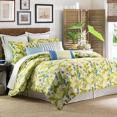 Tommy Bahama Blue Palm Comforter & Duvet