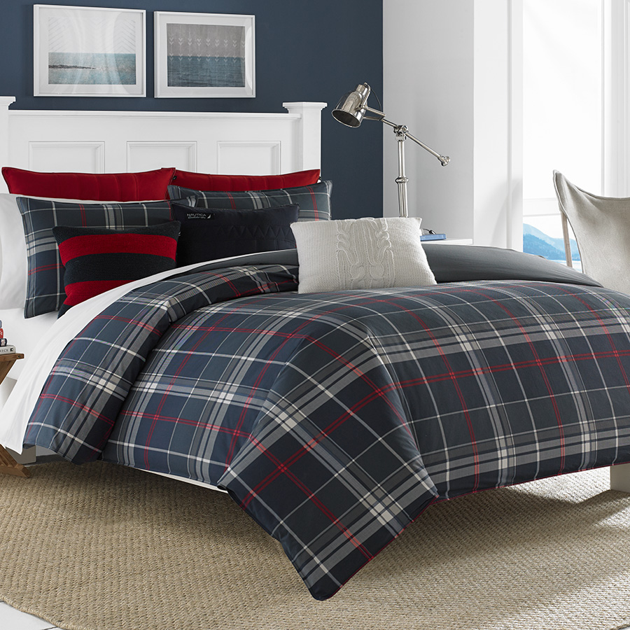 Click here for Twin Comforter Set (Nautica Booker) prices