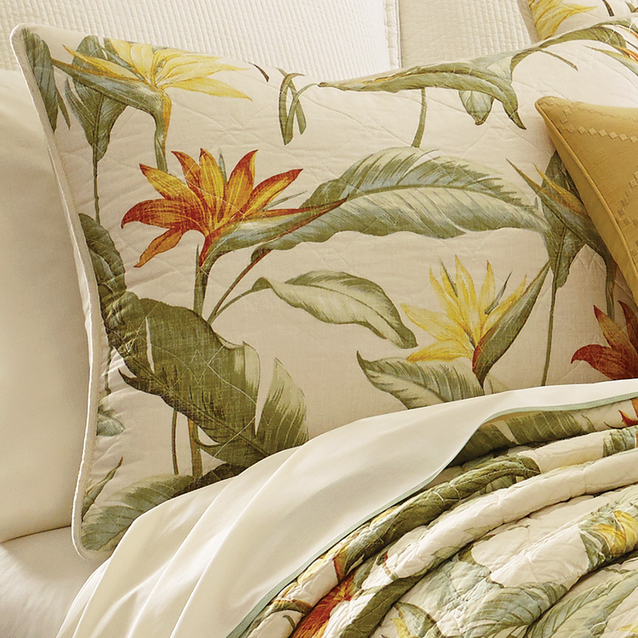 Tommy Bahama Birds Of Paradise Quilt Set From Beddingstyle Com
