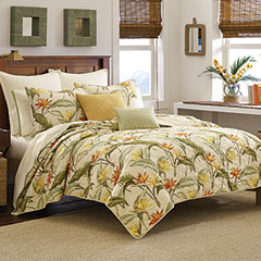 Tommy Bahama Birds of Paradise Quilt Set