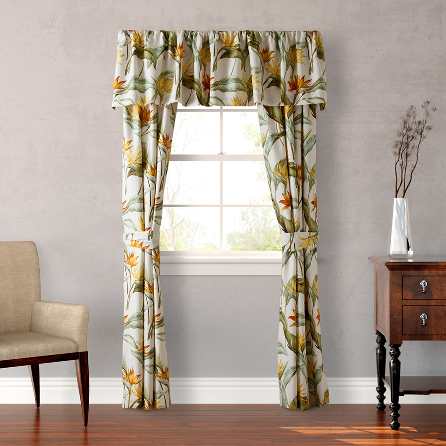 Tommy Bahama Birds Of Paradise Window Treatment From
