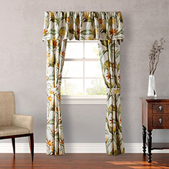 Tommy Bahama Birds of Paradise Window Treatments