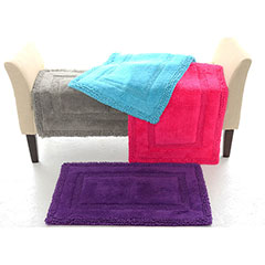 Border Bath Rug Set