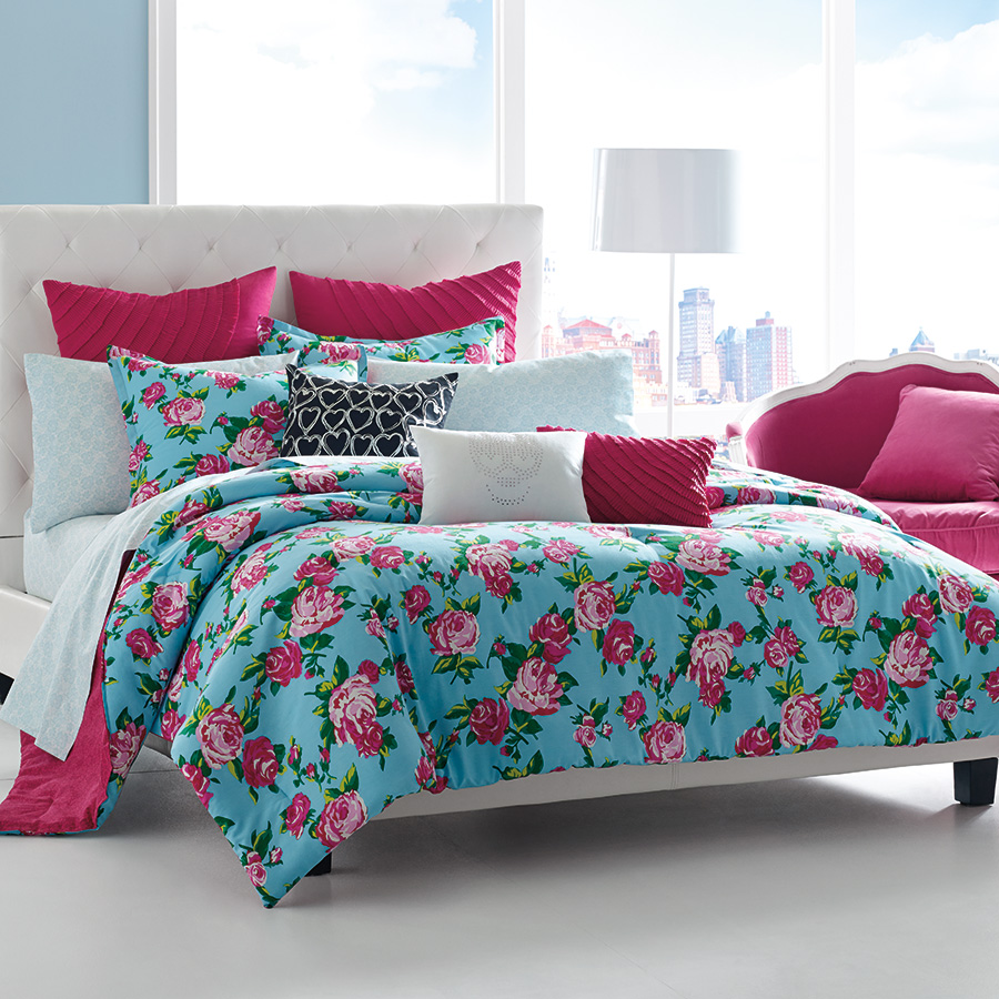 King Comforter Set Betsey Johnson Boudoir