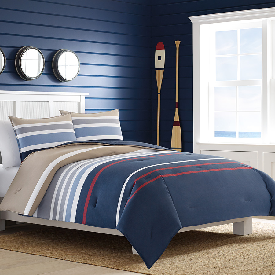Nautica Bedding And Comforter Set