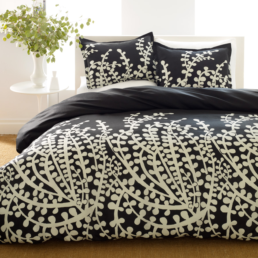 Shop City Scene Branches Black Bedding Comforter From