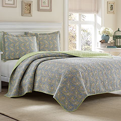 Laura Ashley Brentford Quilt Set