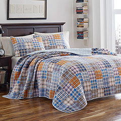 Poppy & Fritz Brian Plaid Quilt Set