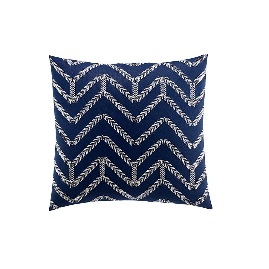 Nautica Decorative Pillows Navy : Nautica Brindley 18