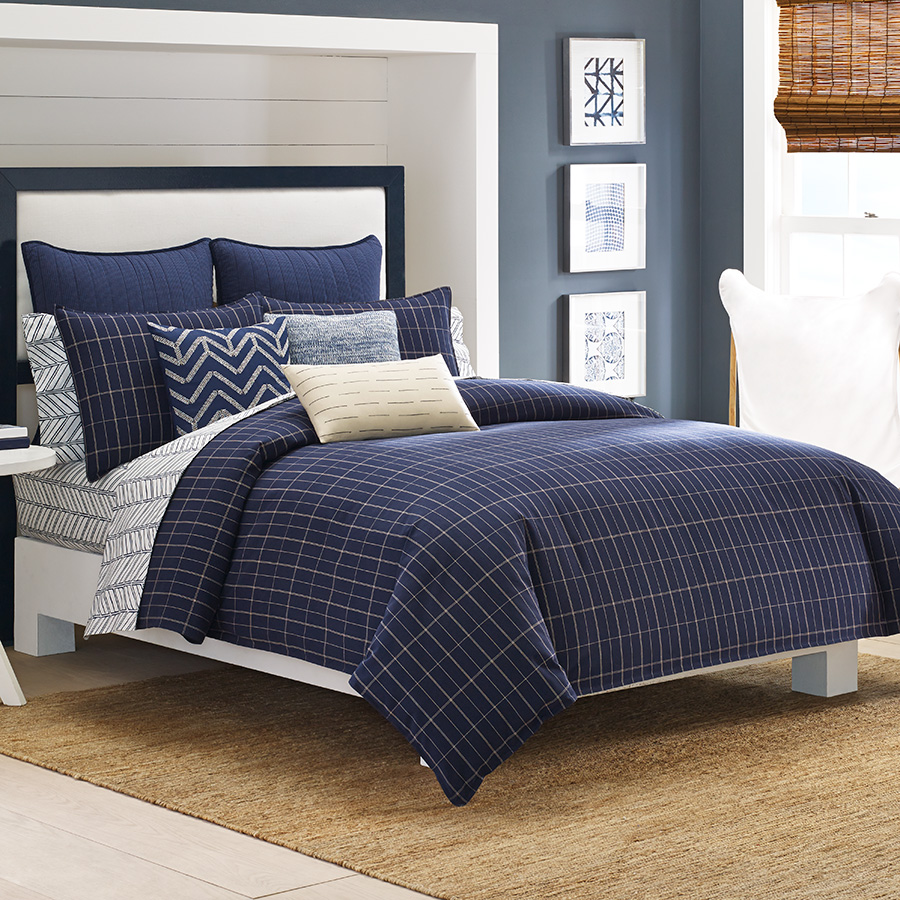 Click here for Twin Comforter Set (Nautica Brindley) prices